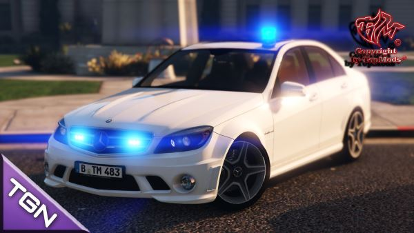 Mercedes-Benz C63 Kripo Hänsch Movia LED для GTA 5
