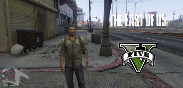Joel The Last Of Us [Add-On Ped] для GTA 5