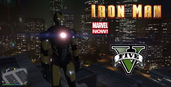 Iron Man Marvel Now [Add-On Ped] для GTA 5