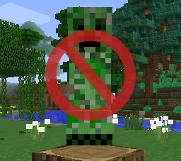 No Mob Spawning on Trees для Майнкрафт 1.11
