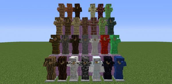 Block Armor для Майнкрафт 1.10.2