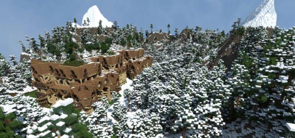 Carca's Castle для Майнкрафт 1.11