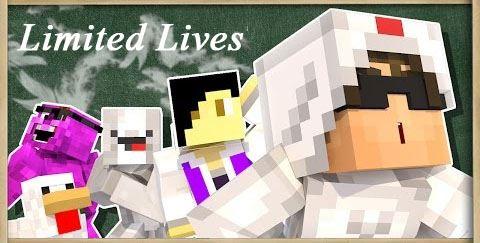 Limited Lives для Майнкрафт 1.11