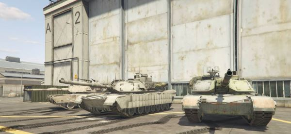M1 Abrams Add-On Pack для GTA 5