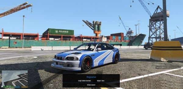 BMW M3 E46 GTR v 5.0 для GTA 5