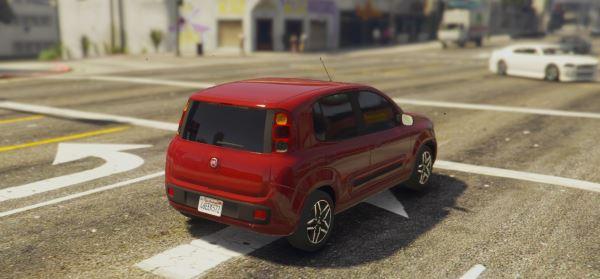 2013 Fiat Uno для GTA 5