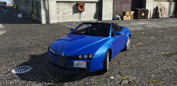 Alfa Romeo Spider 939 (Brera) [Add-On / Replace] для GTA 5