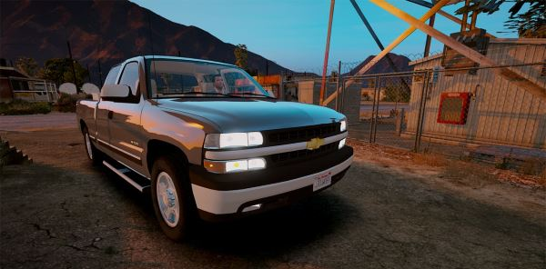 2000 Chevrolet Silverado 1500 [Add-On / Replace] для GTA 5