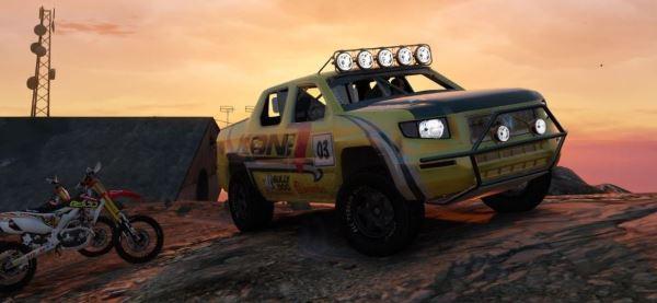 Honda Ridgeline - Baja 1000 Edition для GTA 5