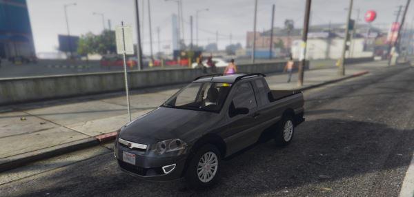 Fiat Stradinha 2010 для GTA 5