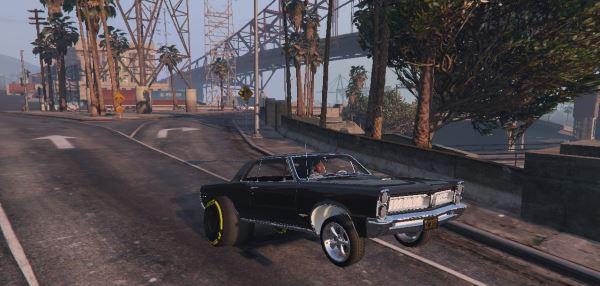 1965 Pontiac GT Drag v 2.0 для GTA 5