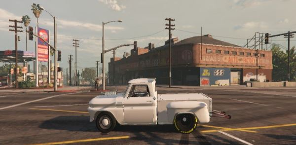 Chevrolet C-10 Stepside Drag v 2.0 для GTA 5