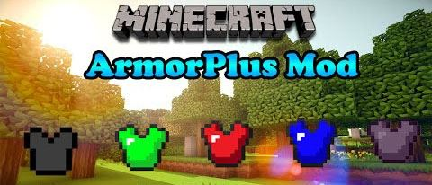 ArmorPlus для Майнкрафт 1.11