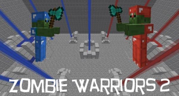 Zombie Warriors 2 для Майнкрафт 1.10.2