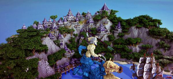 Azul Islands для Майнкрафт 1.11