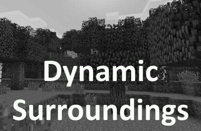 Dynamic Surroundings для Майнкрафт 1.11