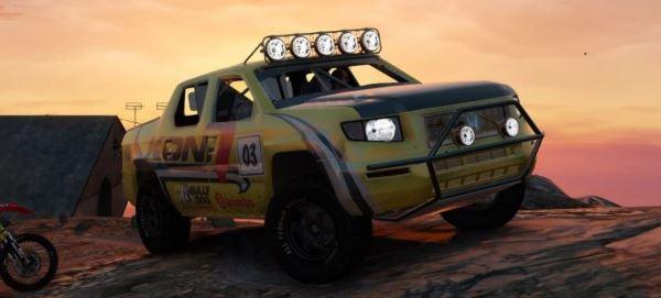 Honda Ridgeline - Baja 1000 Edition v 1.1 для GTA 5