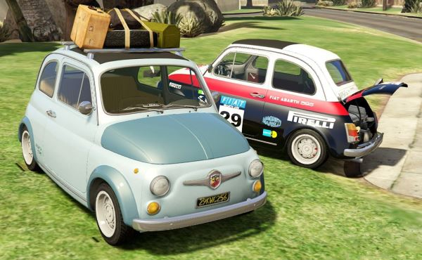 Fiat Abarth 595ss (2in1) [Add-On / Replace | Tuning | Livery] v 1.1 для GTA 5