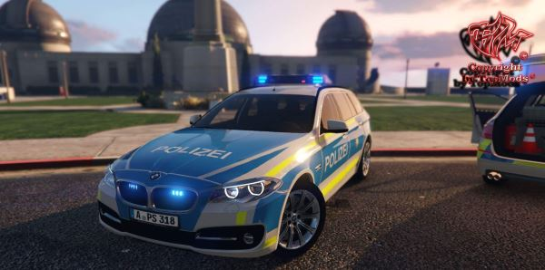 BMW 530D Polizei Bayern (Augsburg) v 2.0 для GTA 5