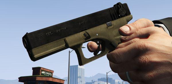 Max Payne 3 - Glock Retexture для GTA 5