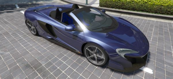McLaren 675 LT Spider [Add-On / Replace] для GTA 5