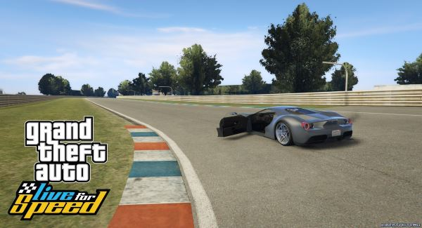 GTA: Live for Speed - Aston Racetrack v 1.2 для GTA 5