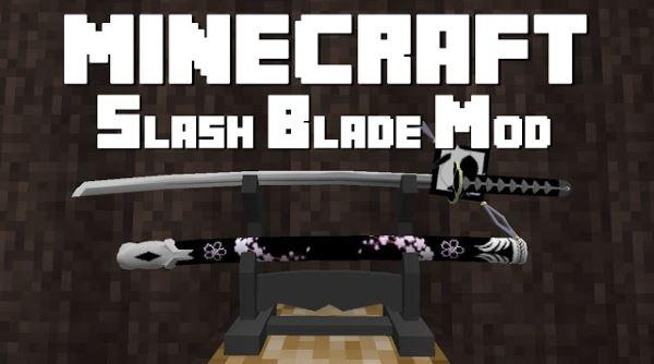 SlashBlade для Майнкрафт 1.11