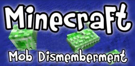 Mob Dismemberment для Майнкрафт 1.10.2