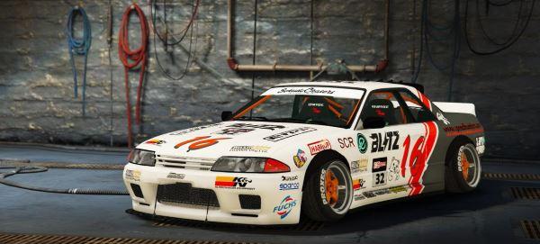 Nissan GT-R R32 Handling, Sound & Livery для GTA 5