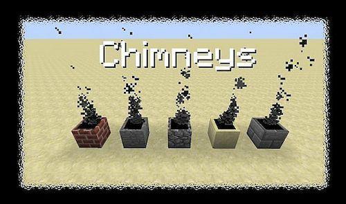Chimneys для Майнкрафт 1.11