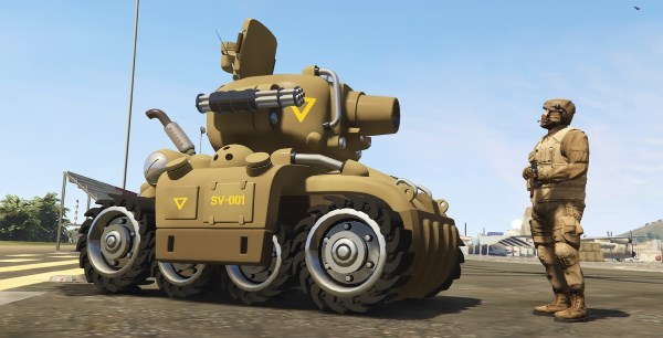 Metal Slug SV-001 (2in1) [Add-On | Livery] 1.2 для GTA 5