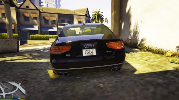 Quebec License Plate для GTA 5