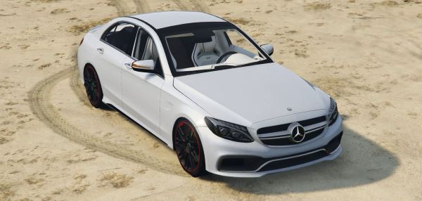 2016 Mercedes-Benz C63 AMG [HQ | Replace] v 1.3 для GTA 5