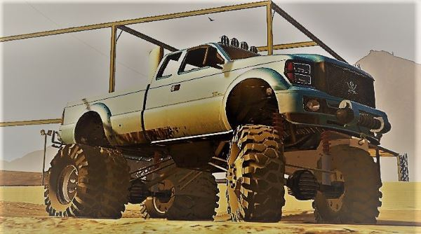 Sandking HD Monster Dually v 1.1 для GTA 5