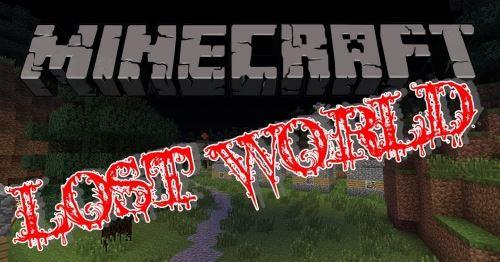 Lost World Parkour для Майнкрафт 1.10.2