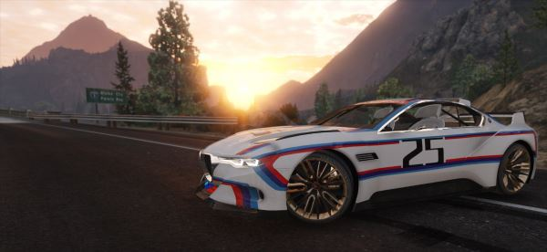 BMW 3.0 CSL Hommage R Concept [Add-On] v 1.1 для GTA 5