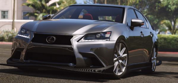 Lexus GS 350 [Add-On / Replace | Tuning | Template] для GTA 5