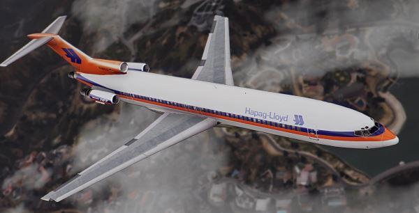 Boeing 727-200 (Passenger & Cargo) v 2.0 для GTA 5