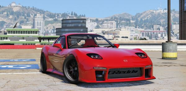 Mazda RX-7 Asuka [Add-On | Livery | Template] для GTA 5