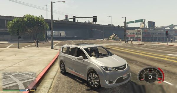 2017 Chrysler Pacifica Limited для GTA 5