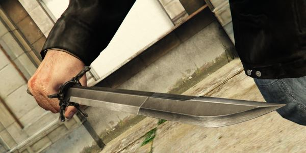 Dishonored - Corvo's Blade для GTA 5