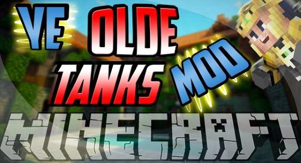 Ye Olde Tanks для Майнкрафт 1.11