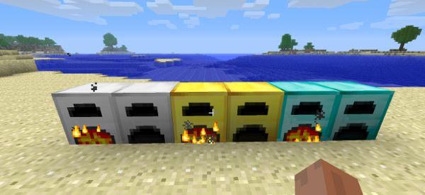 More Furnaces для Майнкрафт 1.11