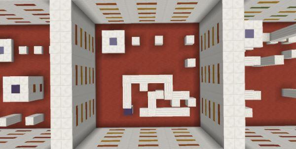 Cubic Parkour для Майнкрафт 1.10.2
