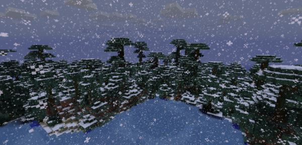 Wintercraft для Майнкрафт 1.8.9