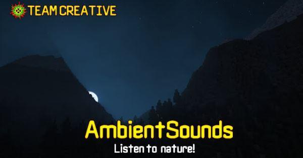 AmbientSounds для Майнкрафт 1.11