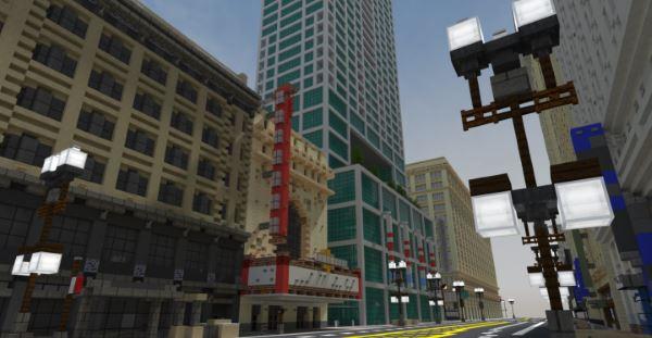 Chicago Theater для Майнкрафт 1.11