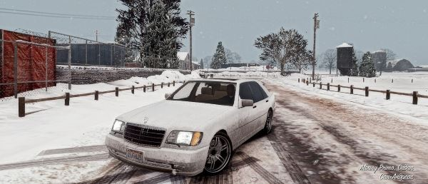 Mercedes-Benz W140 AMG [Add-On / Replace] v 2.0 для GTA 5