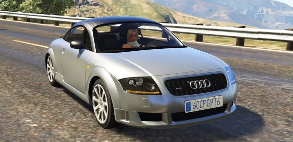 Audi TT Mk1 [Add-On / Replace] v 1.11 для GTA 5