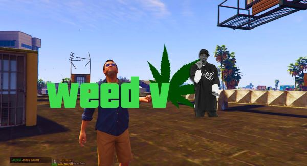 WeedV [Smoke Weed] для GTA 5